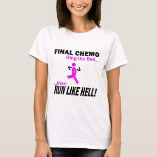 Cancer du sein - le chimio final courent beaucoup t-shirt