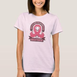 Cancer du sein - rétro ruban de charité - T-shirt