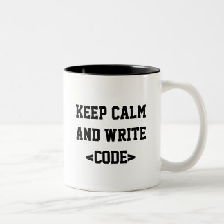 Canette Keep Calm Tasse 2 Couleurs