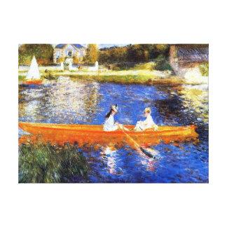 Canotage sur les beaux-arts de la Seine Renoir Toiles
