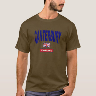 Cantorbéry Angleterre T-shirt