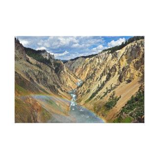 Canyon grand de la toile de Yellowstone