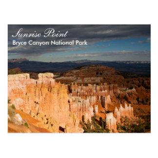 Canyon NP - carte postale de Bryce de point de