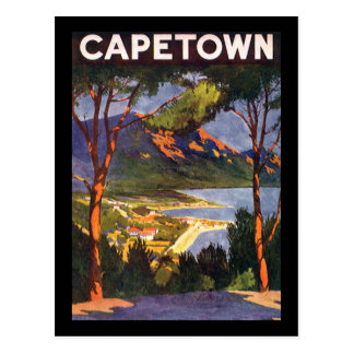 Cape Town Briefkaart