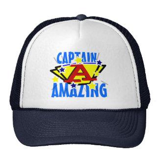 Capitaine Amazing Casquettes
