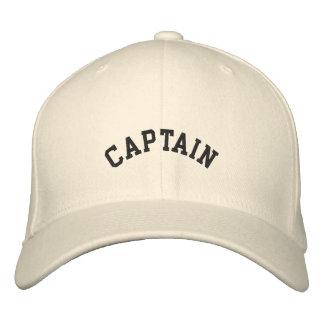 Capitaine de do-it-yourself, chapeau brodé de