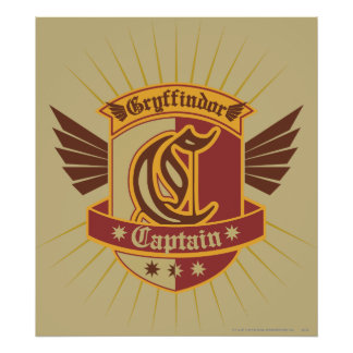 Capitaine Emble de Harry Potter   Gryffindor