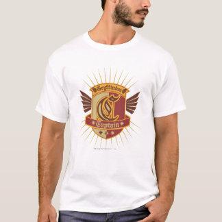 Capitaine Emble de Harry Potter | Gryffindor T-shirt