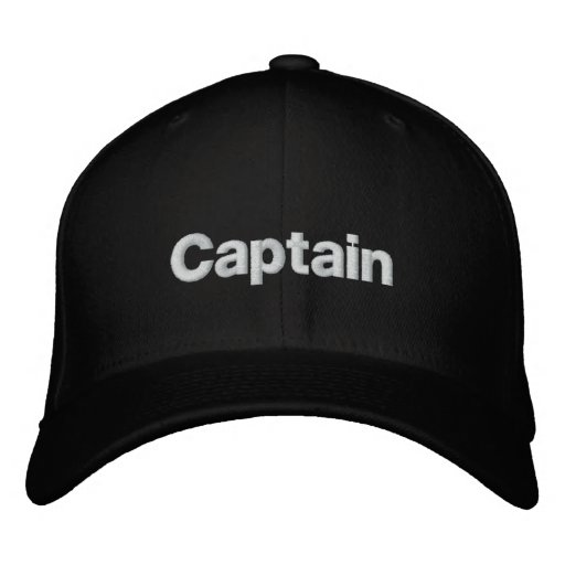 Capitaine Embroidered Hat Chapeau Brodé