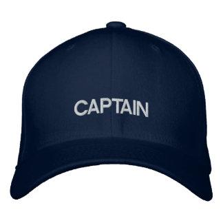 Capitaine Embroidered Hat Chapeaux Brodés