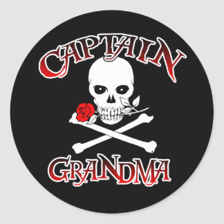 Capitaine Grandma Sticker