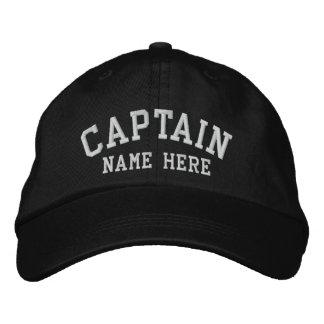 Capitaine - personnalisable casquette brodée