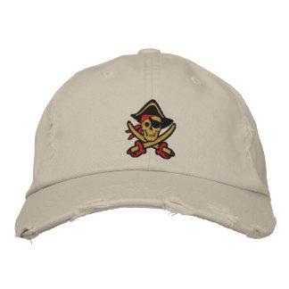 Capitaine Skull Embroidered Cap de pirate Casquettes De Baseball Brodées