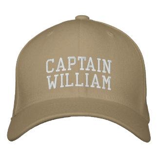 Capitaine William Casquette Brodée