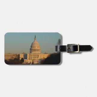 Capitol à la photo de vacances de Washington DC de Étiquette À Bagage