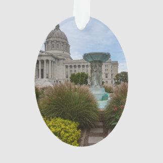 Capitol et fontaine du Missouri