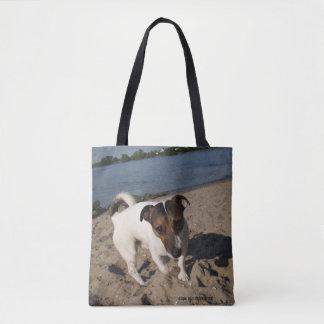Capo von Oppenheim Jack Russell Terrier, chien Tote Bag