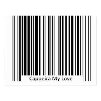 Capoeira mon courrier de carte d'amour