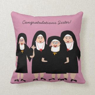 Capricieuze Nonnen in Gewoonten Sierkussen
