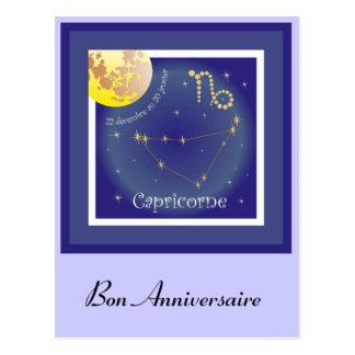Capricorne 22 20 externes décembre de carte