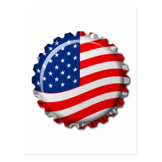 Capsule des Etats-Unis Carte Postale