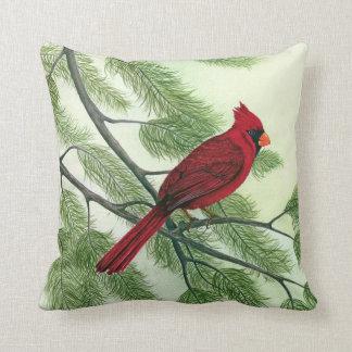 Cardinal - coussin