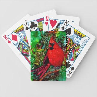 Cardinal dans l'arbre jeu de cartes