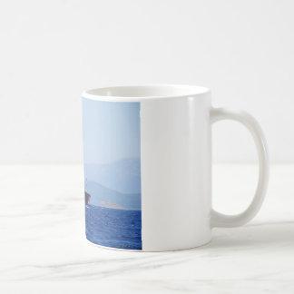 Cargo rouge et blanc mug