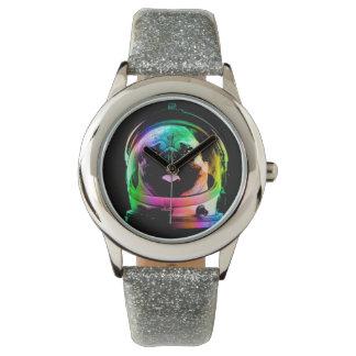 Carlin d'astronaute - carlin de galaxie - l'espace montres bracelet