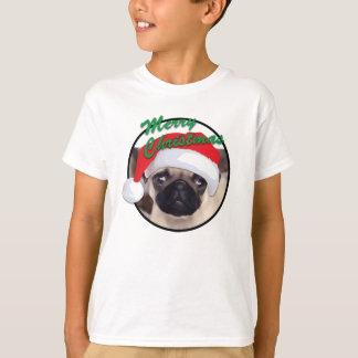 Carlin de Noël - T-shirt de base de Hanes des