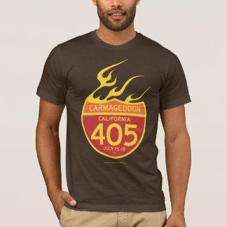 CARMAGEDDON 405 sur le feu T-shirt