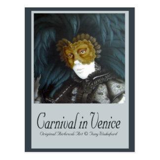 Carnaval à Venise Carte Postale