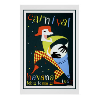 Carnaval dans le voyage vintage de La Havane