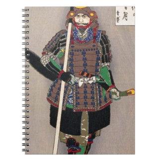 Carnet 山中幸盛 samouraï de Yukimori par le 月岡芳年 de