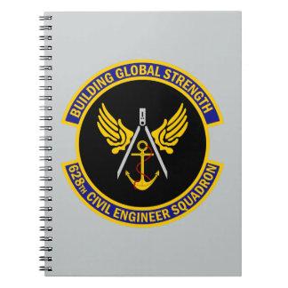 Carnet 628th Escadron d'ingénieur civil