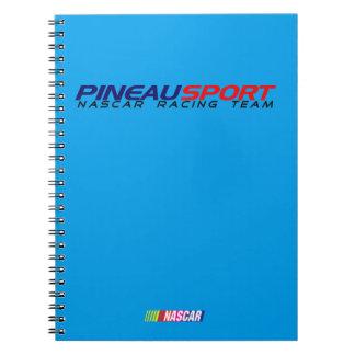 Carnet 80 pages avec lignes PINEAU SPORT NRT