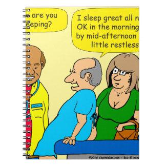Carnet 943 comment allez vous bande dessinée de sommeil