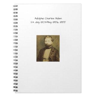 Carnet Adolphe Charles Adam, 1855