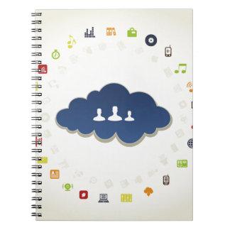 Carnet Affaires un nuage