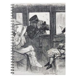 Carnet Alice sur le train