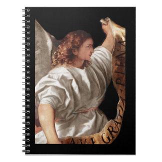 Carnet Ange de Titian avec la bannière