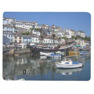 Carnet avec des images de port de Brixham