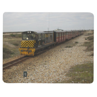 Carnet avec des images de train de diesel et de