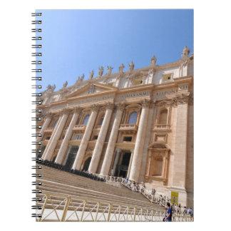 Carnet Basilique de San Pietro à Vatican, Rome, Italie