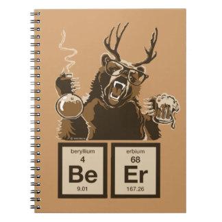 Carnet Bière découverte par ours de chimie