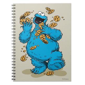 Carnet Biscuits fous de monstre de biscuit