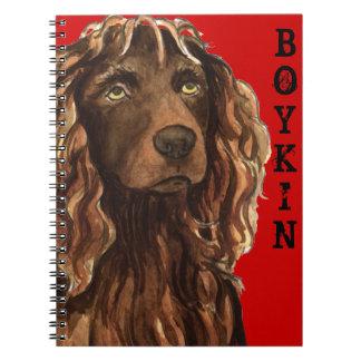 Carnet Bloc de couleur d'épagneul de Boykin