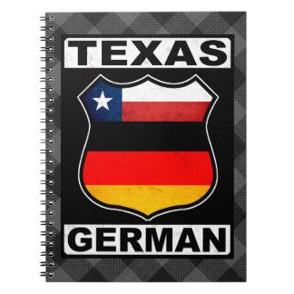 Carnet Bloc - notes américain allemand du Texas
