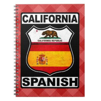 Carnet Bloc - notes hispano-américain de la Californie