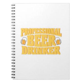 Carnet Boire professionnel de bière de buveur de bière